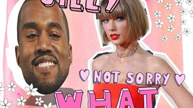Kanye West slams Taylor Swift on stage at Drake concert