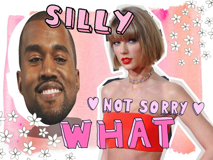 kanye west slams taylor swift drake concert
