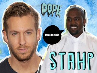 Kayne West, Calvin Harris
