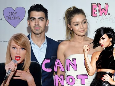 "Joe Jonas played a game of ""kill, shag, marry"" involving his exes and things got awkz"