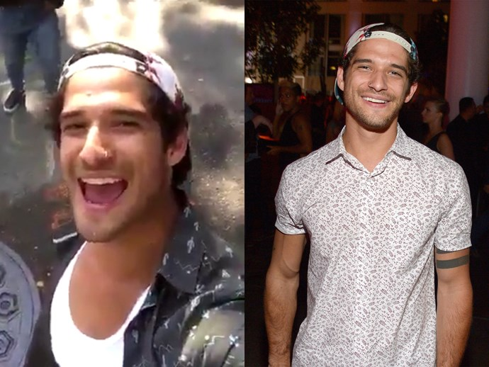 tyler posey comes out snapchat