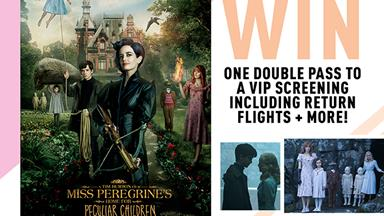 WIN tickets to a ~VIP~ screening of Miss Peregrine's Home for Peculiar Children