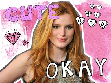 Watch: Bella Thorne tattoos her eyebrows on Snapchat and wowzers