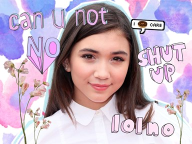Rowan Blanchard is quitting social media and the reason is upsetting as hell