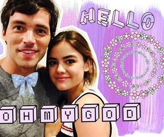 Ian Harding opens up about his PLL engagement to Aria