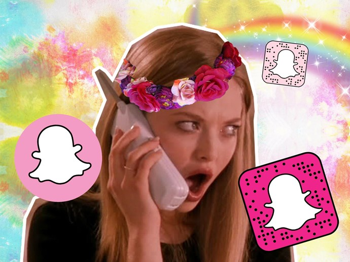 Snapchat geostickers