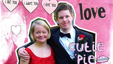 Lauren Potter from GLEE just got promise ring engaged and we're crying