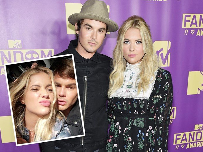 Ashley Benson Tyler Backburn
