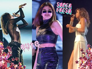 Selena Gomez's updated Revival tour wardrobe