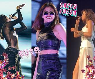 Selena Gomez's updated Revival tour wardrobe