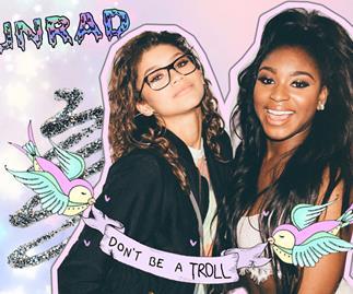 Zendaya on Fifth Harmony's Normani Kordei quitting social media