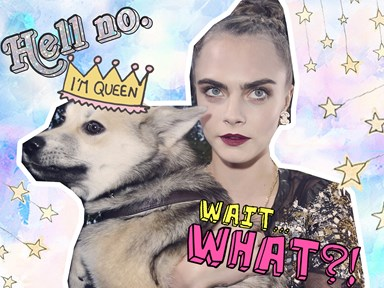 Cara Delevingne has seriously upset animal rights activists over her dog's collar