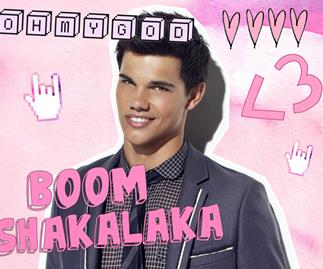"Taylor Lautner confirms ""Back To December"" is about him"
