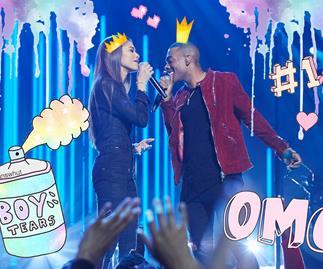"Zendaya and Mario sing ""Let Me Love You"""