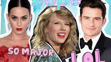 Apparently Taylor Swift is having a massive LOL over Katy Perry and Orlando Bloom