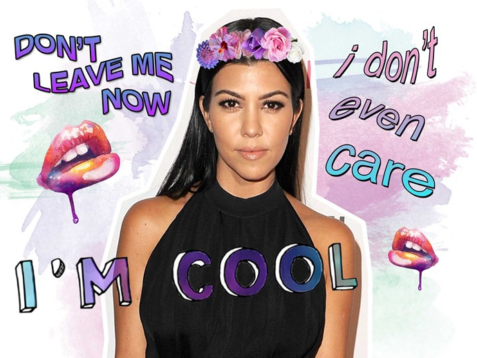 Kourtney Kardashian is over KUWTK and reality TV