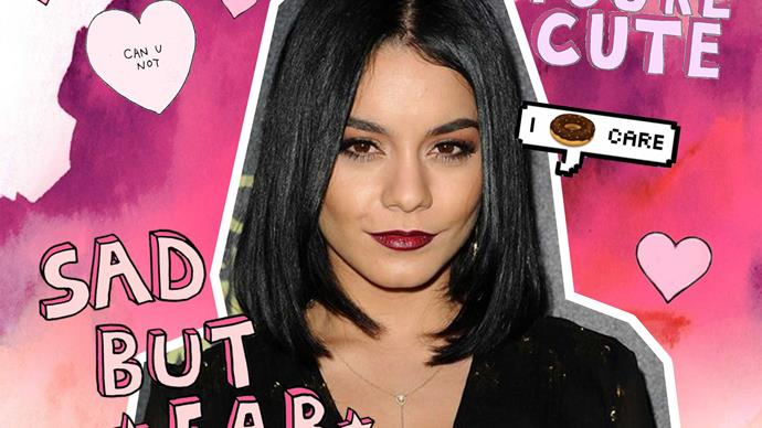 Vanessa Hudgens talks about her body insecurities