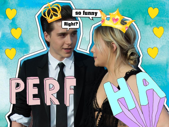 Chloë Grace Moretz and Brooklyn Beckham prank Victoria