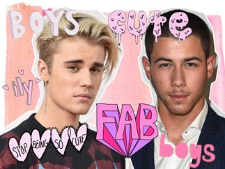 Nick Jonas posts a throwback pic of him and Justin Bieber