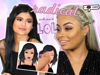 Kylie Jenner addresses Blac Chyna's slapping emoji