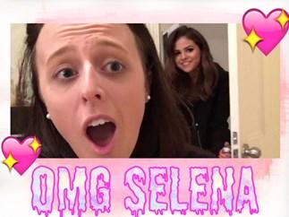 Selena Gomez bursts into Aussie fan's bedroom