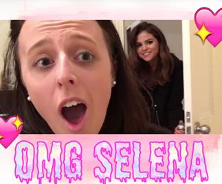 Selena Gomez bursts into Aussie fan's bedroom