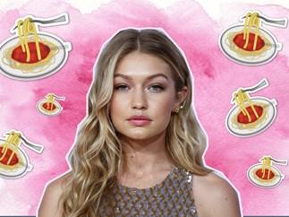 Gigi Hadid puts WHAT in her spaghetti bolognese?!