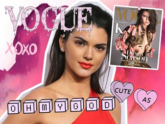 Kendall Jenner's family make a video to celebrate her Vogue cover