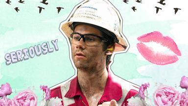 These new pics of Dylan O'Brien on the set of 'Deepwater Horizon' are ~something~