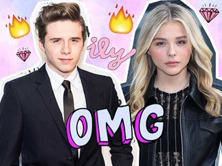 Chloe Grace Moretz and Brooklyn Beckham Split
