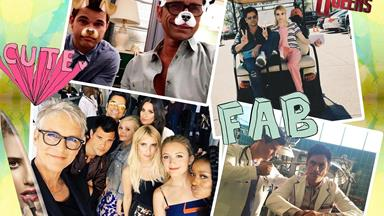 All the BTS photos from season 2 of Scream Queens