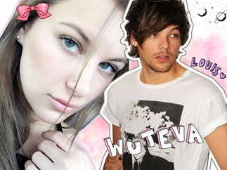 Briana Jungwirth films herself singing to One Direction