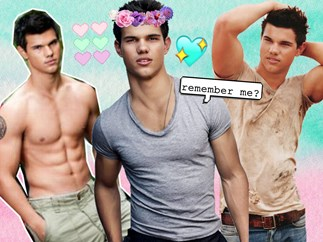 Extremely hot Taylor Lautner moments you forgot about