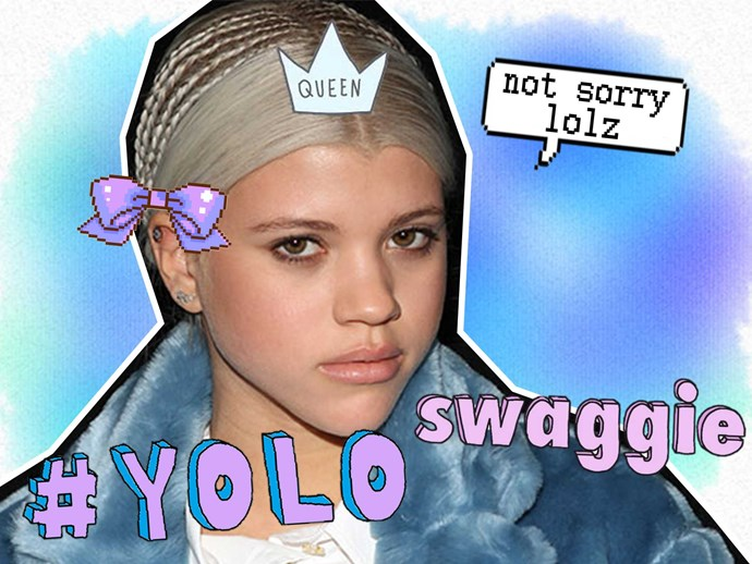 "Sofia Richie tweets ""love you"" after the Bieber drama"