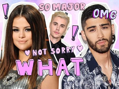 Apparently Justin accused Selena of cheating with Zayn, and yeah this is outrageous