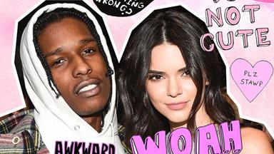 Sooo A$AP's family really doesn't like Kendall Jenner at all...