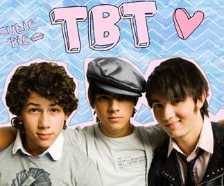 Nick Jonas posts a Jonas Brothers throwback pic