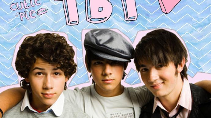 Nick Jonas posts a Jonas Brothers throwback pic