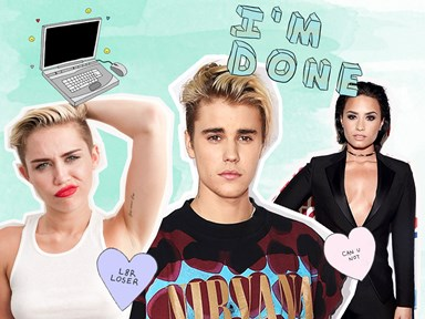 10 celebs who chucked a hissy fit and quit social media