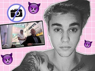 Here are all the times Justin Bieber got angry with his fans