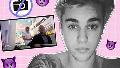 Here are all the times Justin Bieber lost his chill with his fans