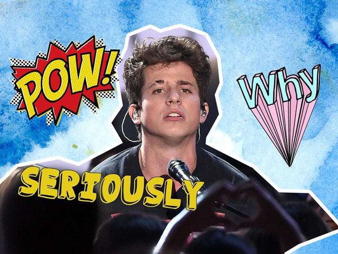 Charlie Puth is trending on Twitter: #CharliePuthIsOverParty