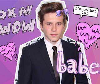 Brooklyn Beckham covers Dazed Korea magazine