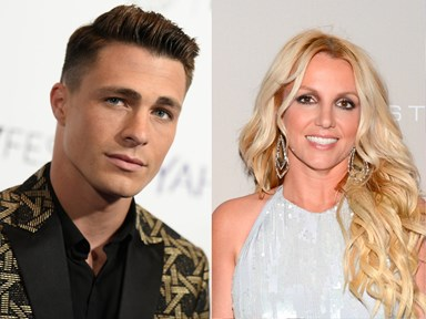 WATCH: Britney Spears brings Colton Haynes on stage but has no idea who he is