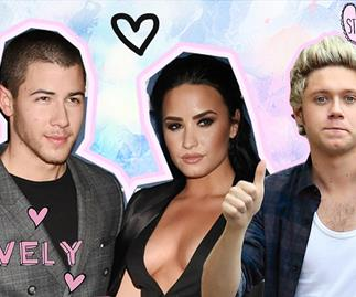 Niall Horan, Demi Lovato and Nick Jonas are the friendship group you never you needed