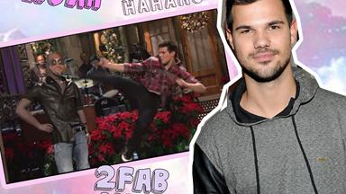 Remember that time Taylor Lautner beat up Kanye West on live TV?