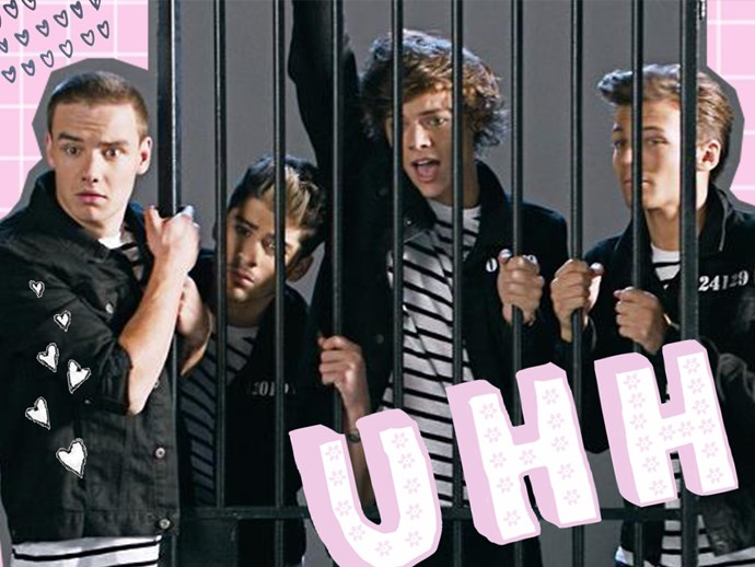 One Direction were almost arrested during WMYB video