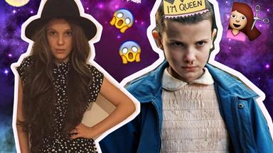 Watch Stranger Things' Millie Bobby Brown shave ALL her hair to become Eleven