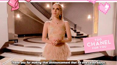 "10 ~inspirational~ Chanel Oberlin quotes from ""Scream Queens"""