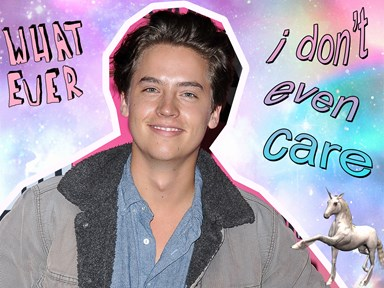 Cole Sprouse accidentally unverified his Twitter account and kinda liked it